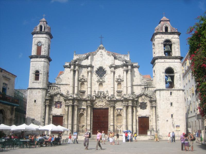 Catedral de San Cristobal - Havana Cuba