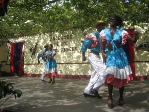 Rumba dancers