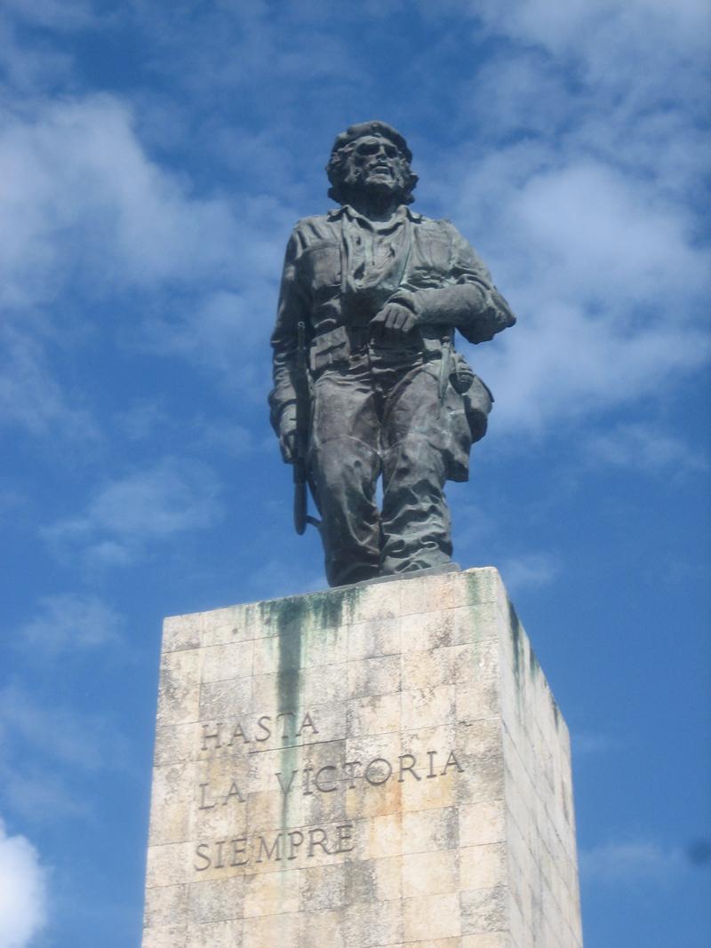The Che Guevara memorial in Santa Clara